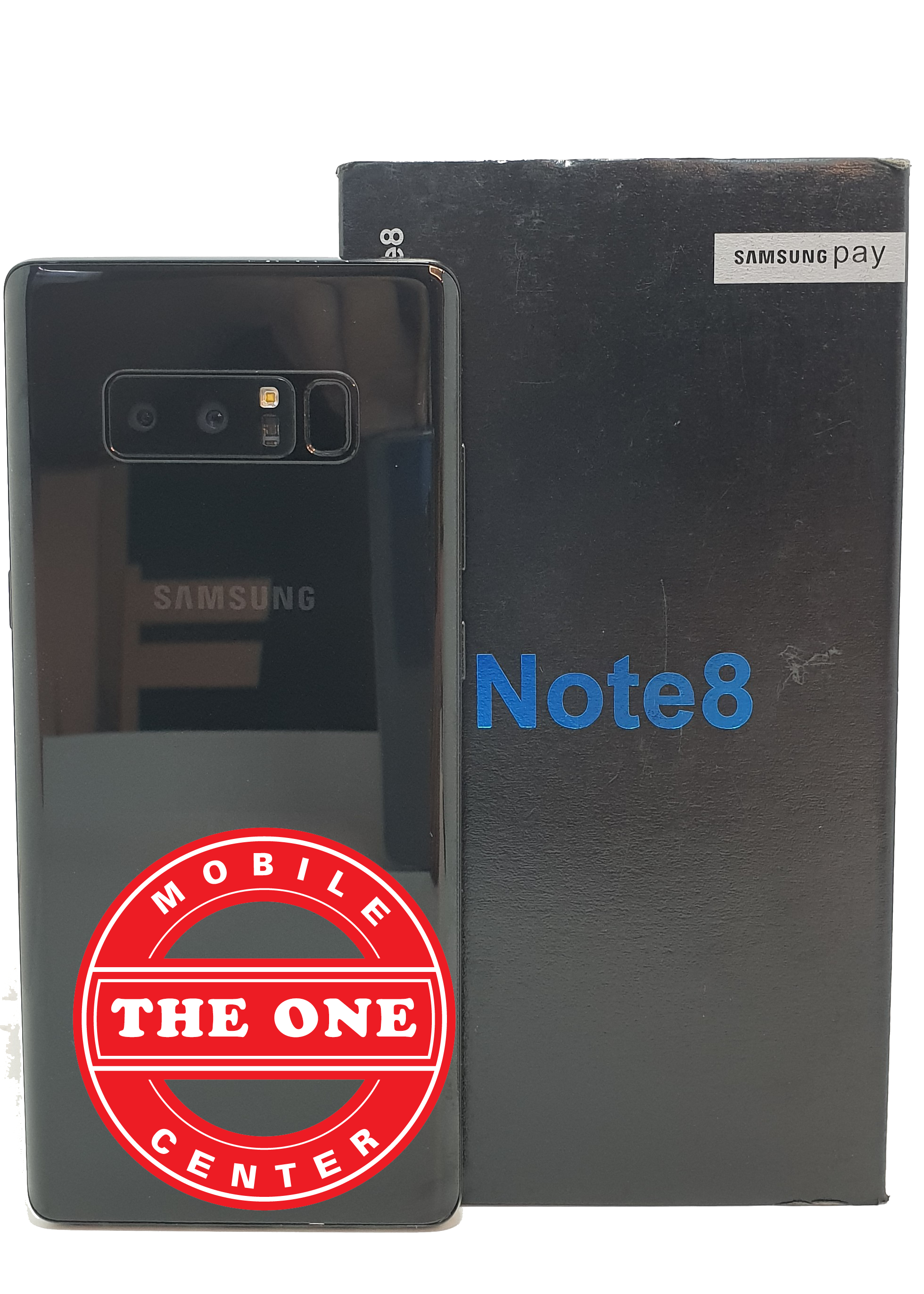 GALAXY NOTE 8 N9500 Black chip Snapdragon 2 Sim