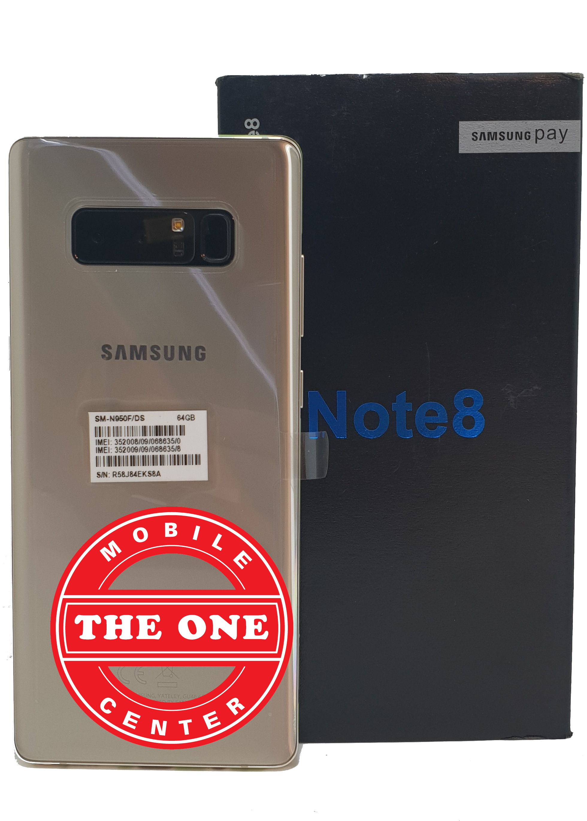 Galaxy Note 8 Maple Gold